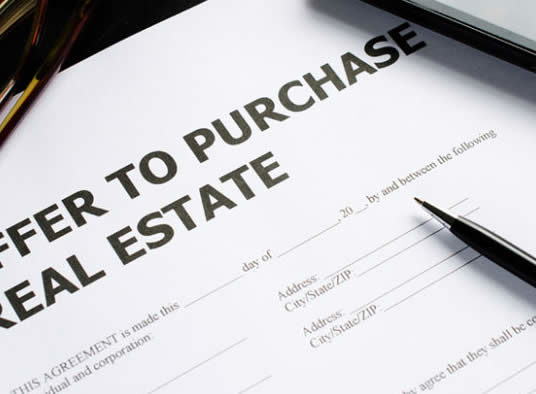 What you need to know before signing an offer to purchase